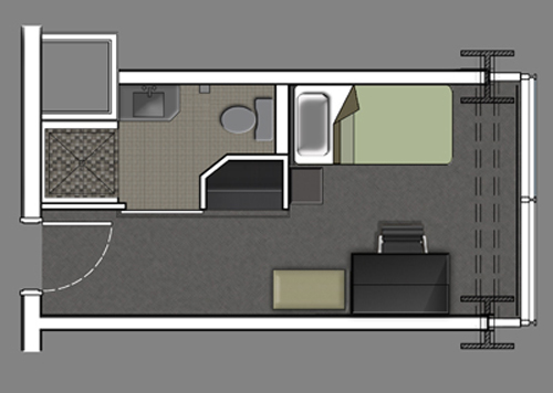 PHR room layout