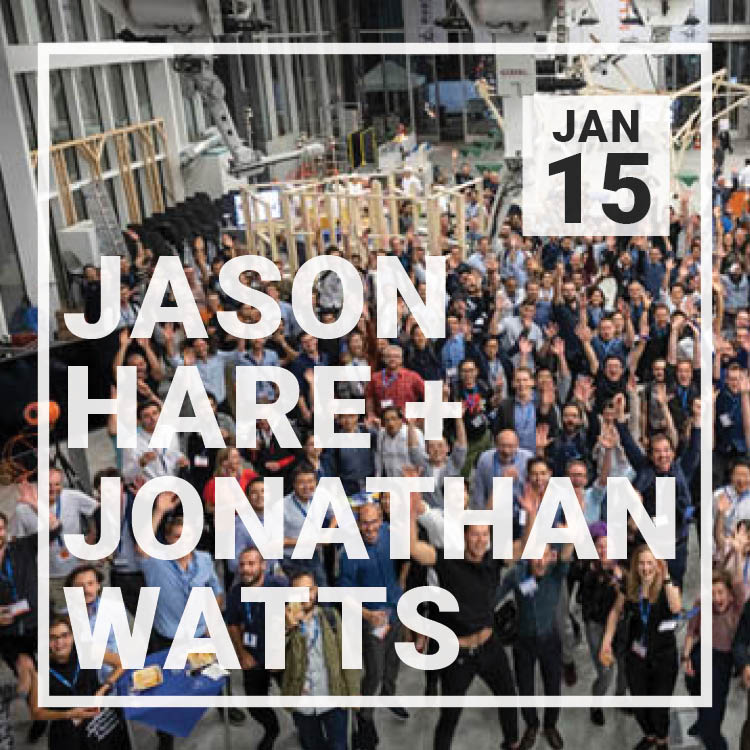 Jason Hare and Jonathan Watts