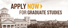 Apply Now for Graduate Studies
