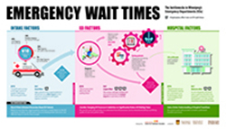 Link to Emergency Department Waiting Room Time Infographic page