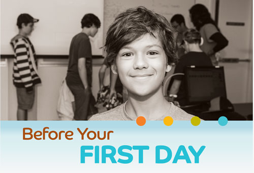 Before your first day
