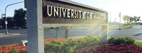 University of Manitoba Sign