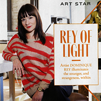Dominique Rey featured in Flare magazine, December 2013