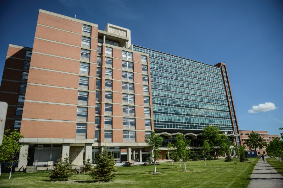 The University of Manitoba Pembina Hall Residence building.