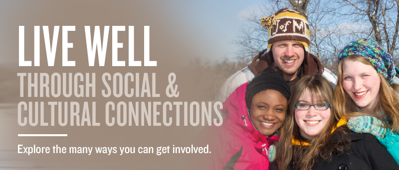 Social and Cultural - Live Well @ U of M